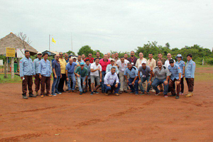 Half way of training in Cambodia for Iraqi mine action experts!