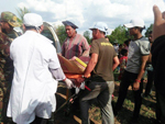 Landmine accident in Bateay Mean chey provine...