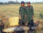 Bomb MK82 found in Prek Rosey commune, Rovea Em District, Kandal Province.