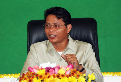 General Director of CMAC visiting in CMAC Battambang.